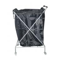 Quality Towel Hair Salon Furniture Hand Trolley Cart with Anti Aging / Abrasion wholesale