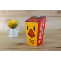 China Paper Fried Chicken Takeaway Boxes ECO Friendly Disposable Food Grade Various Size on sale