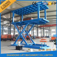 Buy cheap Platform Hydraulic Double Deck Car Parking System , Underground Garage Car Parking Lifter from wholesalers