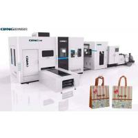 China Fully Automatic Non Woven Bag Machine / Bag Making Equipment With Japan Servo Motor on sale