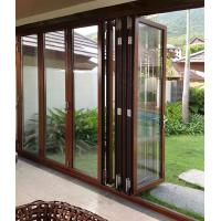 Quality Anti Rusting Aluminum Frame Glass Door Waterproof With ISO9001 Certification wholesale