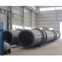 China High Temperature Pump Industrial Rotary Dryer , Sewage Sludge Rotary Drying Equipment on sale