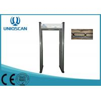 Quality Door Frame Walk Through Metal Detector 6 Zones For Public Security Inspection wholesale
