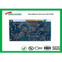 Quality Computer Multilayer Circuit Board with OSP + Gold Finger Blue Solder Mask wholesale