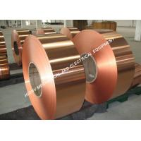 Quality 300mm Width Bronze Foil Roll , Round Edge Conductive Copper Foil Tape wholesale