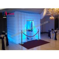 Quality Colorful Romantic Inflatable Photo Booth Wedding Props For Party Digital Print wholesale