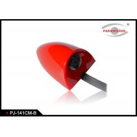 Quality DC 12V Universal Side Car Parking Side View Camera Wide Angle 3G1P Lens Red Color wholesale