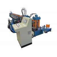 Quality 41-41 C Channel Guide Rail Roll Forming Machine With Cooling And Lubricating System wholesale