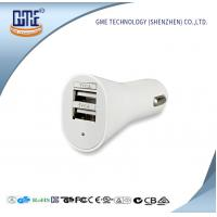 Quality Universal USB Power Adapter 5V 2.1A / 2.4A Double USB Car Charger wholesale