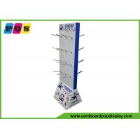Quality Double Sided Durable Cardboard Display Stands With Metal Pegs For Baby Shoes HD055 wholesale