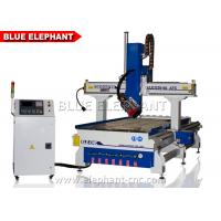 Quality 4 Axis CNC Router Machine For Wood , Furniture , Aluminum wholesale