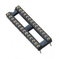 Quality 2.54mm IC CardRound Pin Header 2*14P DIP H=3.0 L=7.43 Row Of Pitch 7.62 wholesale