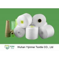 Quality Eco Z Twist High Tenacity Raw White Low Elongation Polyester Yarn for Sewing Thread wholesale