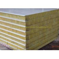 China Lightweight Zinc Coated Foam Metal Sandwich Panels For House Fabrication on sale