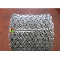 Quality Lightweight Flattened Expanded Metal Mesh Low Carbon Steel Hot Dipped Galvanized wholesale
