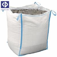 Buy cheap Anti Static Big Delivery Bags 500 Kg Big Bag Sack With Reinforcement White Color from wholesalers