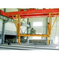 Quality Sand Lime AAC Block Cutting Machine , AAC Block Tilting Hoister Machinery wholesale