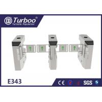 Quality Less Maintenance Electronic Turnstile Gates / RFID Barrier Gate Compact Design wholesale