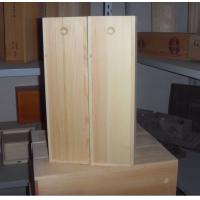Cheap wooden wine box with slide lid for sale