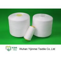 Quality Dyed Color / Bleached White Spun Polyester Thread For Sewing Garment wholesale