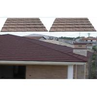 Buy cheap Colorful Environmental Shingle Lightweight Metal Roof Tiles For resort Masion product