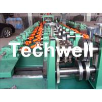 Quality Auto Size Changeable C Z Shaped Purlin Roll Forming Machine With Gimbal Gearbox Drive wholesale