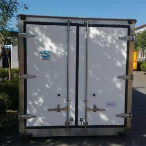 Quality FRP Truck Box Assembled by Fiberglass PU Sandwich Panel wholesale