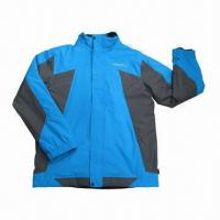 Quality Ski Jacket, Available in Blue and White, with 120g Cotton Paddin, Colorway Available wholesale