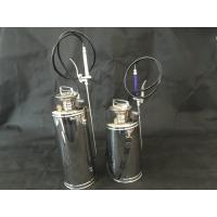 Quality Small Stainless Steel Hand Pump Sprayer / Automatic Metal Tank Sprayer wholesale