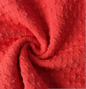 Quality 2018 Alanna high quality polyester bubble fabrics(Poly Jacquard Bubble Design Wholesale Fabric,dyed & bubbled polyester) wholesale