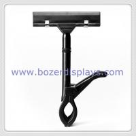 Adjustable shelf rack display clip for metal shelves and glass shelves for sale