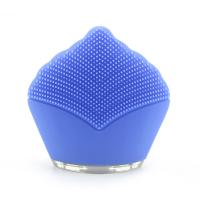 Quality Battery Rechargeable Silicone Electric Facial Cleanser , Sonic Face Massager wholesale