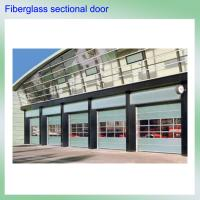 Quality China unqiue Germany technique high strength hollow light weight fiberglass sectional garage door wholesale