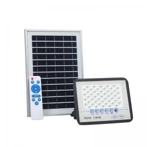 China 100W solar motion sensor flood light outdoor solar flood light with remote control flood light solar with switch on sale