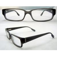 Quality Cool Rectangular Mens Acetate Eyewear Frames, Black Optical Eyeglasses Frame wholesale