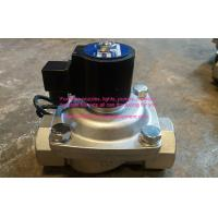 Quality SS304 IP68 Two Ways Solenoid Valve Water Fountain Equipment DC24V Underwater Type wholesale