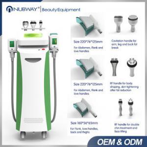 China Top sale body shaping freeze cavitation machine price cryolipolysis freezing fat removal on sale