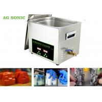 Quality Stainless Steel 304 Digital Ultrasonic Cleaner Dx Dx 6 DX7 Print Head 10L Tank wholesale