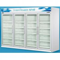 China Grocery 0 - 10°C Glass Door Freezers Frost Free With Copeland Compressor on sale