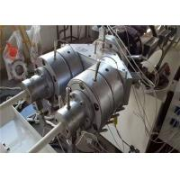 Quality Professional PVC Pipe Extrusion Line 37KW Motor Power High Wear Resistant wholesale