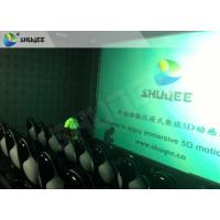 Quality Surreal Vision 9D Movie Theater Electric Motion System Immersive Experience For Audiences wholesale