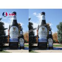 Cheap OEM Customed Inflatable Wine Bottle / Inflatable Replicas Model For Advertising for sale