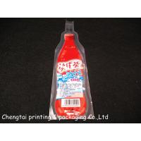 Custom Bottle Shaped Stand Up Pouch With Spout For Mineral Water Pouch