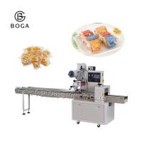 Quality Servo Motor Pillow Bag Packaging Machine Horizontal Sweets Donut Packing Not Filling wholesale