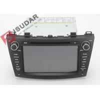 Cheap 1080P Mazda3 Dvd Player , Android Touch Screen Car Stereo Head Unit With OBD TMPS for sale