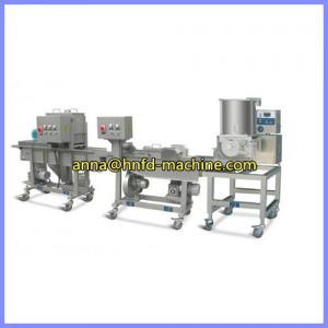 Quality Automatic hamburger meat patty production line,meat patty making machine wholesale