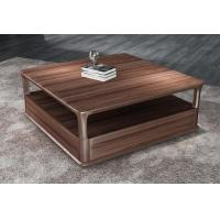 Quality 2017 New Walnut Wood Case Good Furniture Design Living room Coffee table& Tea table with Storage side Drawers wholesale