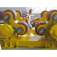 Quality Self Alignment 200T Tank Turning Rollers with Metal Wheels Double Motors Synchronous Drive wholesale