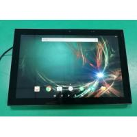 China 10 Inch Wall Mounted POE Touch Tablet With NFC Reader LED Light For Time Attendance on sale