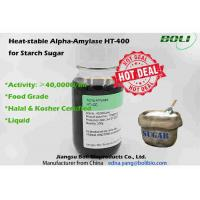 Quality Liquid Alpha Amylase Enzyme Low PH Tolerant 40000 U / Ml Robust Activity For Starch Sugar Production wholesale